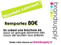 Nouveau concours pour 80€ !!  http://www.brandsupply.fr/design_flyers/creation-de-brochure-a6/28364