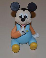 Edible Fondant Baby Mickey Mouse Cake Topper