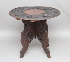 Shop our full collection of Tables here at Vinterior Antique Furniture, Teak, 19th Century, Carving, Antiques, Table, Home Decor, Products, Antiquities