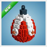 Instructions to make LEGO Christmas ornaments! New way to keep my boys busy!