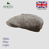 c59883c17ff40 Hats Plus Caps · Donegal Brown Tweed Newsboy Peaky Blinders Flat Cap  Bakerboy Wool Gatsby Hat Peaky Blinders Flat Cap