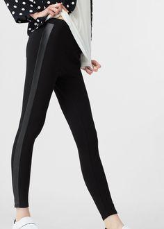 Leggings paneles contraste | MNG