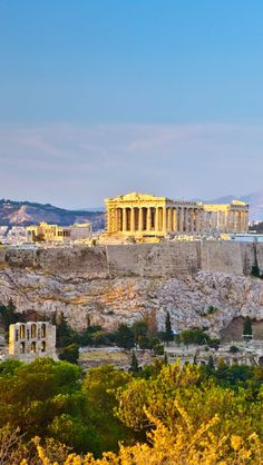 Greece Athens City iPhone 5 wallpapers, backgrounds, 640 x 1136