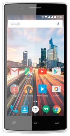 """Смартфон ARCHOS 50d Helium черный 5"""" 8 Гб LTE Wi-Fi GPS  — 7090 руб. —  Бренд: ARCHOS, Операционная система: Android, Диагональ экрана: 5"""", Разрешение экрана: 1280x720, Оперативная память: 1 Гб, Встроенная память: 8 Гб, Емкость аккумулятора: 2100 мАч, Возможности: 3G, Цвет: черный"""