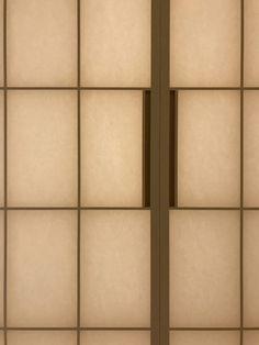 北林泉の家 太鼓張りの障子は照明器具のような役割を果たす 障子 / 和 / 新築 / 照明 / 和室 / 太鼓張り