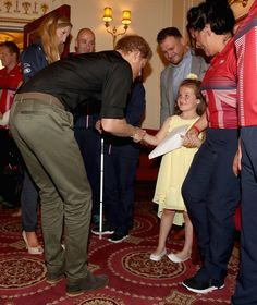 'Thank You for Helping My Mummy' — Prince Harry Shares Sweet Moment with 6-Year-Old Girl at U.K. Invictus Team Launch