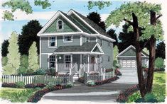 House Plan 24729 | Bungalow   Country    Plan with 1663 Sq. Ft., 3 Bedrooms, 3 Bathrooms