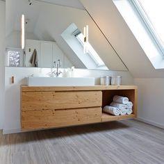 badmöbel aus holz - modern und stilvoll | badezimmer | pinterest, Hause ideen