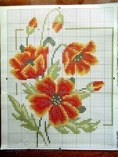 123 Cross Stitch, Cross Stitch Bookmarks, Cross Stitch Needles, Beaded Cross Stitch, Cross Stitch Flowers, Cross Stitch Charts, Cross Stitch Embroidery, Embroidery Patterns, Cross Stitch Pictures