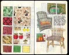 Art Journal/Sketchbuch: 22 Collages, The Artist's Way, Beautiful Sketches, Artist Journal, Art Journal Techniques, Sketch Inspiration, Visual Diary, Art Sketchbook, Moleskine