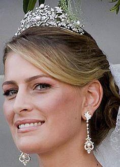 Antique Corsage tiara (Princess Nikolaos of Greece & Denmark)