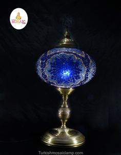 Table mosaic lamp size 6