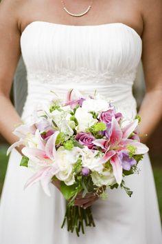 Nashville Garden Wedding Venue   Lily and Rose Bridal Bouquet - Photo: JHenderson Studios
