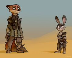 Furry Road (Textless) by Piecee01 on DeviantArt