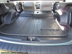 2015 forester with rear cargo tray and new optional rear seatback protector