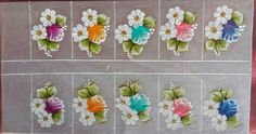 Pints, Nail Art Stickers, Manicures, Health And Beauty, Rose, Flowers, Pattern, Toenails Painted, Ladybug Nails