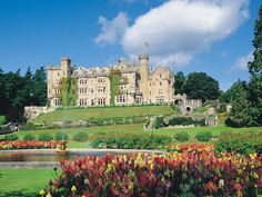 Skibo Castle in Sutherland, Scotland dates back to the 12th century but now operates as a members-only country club.