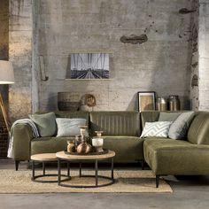 Living Room Green, Living Room Decor, Living Spaces, Sofa Design, Interior Design, Home Goods, Family Room, New Homes, House Design