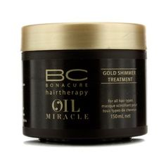 Schwarzkopf BC Oil Miracle Gold Shimmer Treatment (For All Hair Types) 150ml/5oz -- You can find more details by visiting the image link.