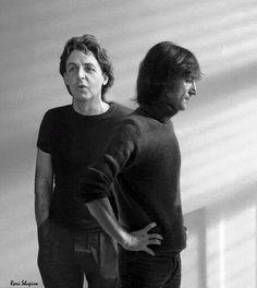 Paul & John (Composite photo)