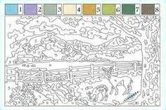 printable paint by number - Yahoo Image Search Results