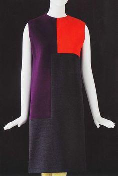 robe Poliakoff (Yves Saint Laurent, 1965, automne-hiver)