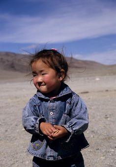 Precious child. Mongolia