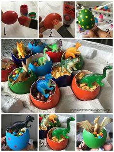 DIY hurvos de dinosaurios