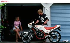 Honda VT250F Honda, Bike, Motorcycles, Motorbikes, Bicycle, Trial Bike, Biking, Bicycles, Motorcycle