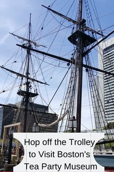 Take a hop-on, hop-off Trolley tour, and visit Boston's Tea Party Museum for a fun look into history. Even push the tea into the harbor! Best Places To Travel, Places To Visit, Boston Travel Guide, East Coast Travel, United States Travel, Historical Sites, Tea Party, Travel Inspiration, Tours