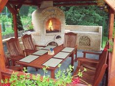 KRBY Outdoor Furniture Sets, Outdoor Decor, Deck, Home Decor, Grilling, Fire Places, Kitchens, Decoration Home, Room Decor