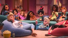 tvfilm:Disney Princesses their new outfits in Ralph Breaks the. tvfilm: Disney Princesses their new outfits in Ralph Breaks the Internet: Wreck-It Ralph 2 New Disney Princesses, Disney Princess Dolls, Princess Tiana, Disney And Dreamworks, Disney Pixar, Walt Disney, Disney Art, Disney Movies, Disney Characters