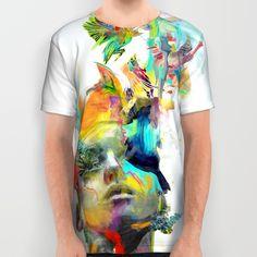"ARCHAN NAIR* ""Dream Theory"" All Over Print Shirt"