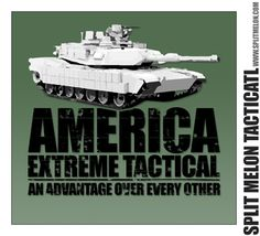 America Extreme Tactical - Tank T-Shirt