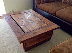 Captivating Hidden TV Coffee Table. Donu0027t Have To Have Such A Large Tv To