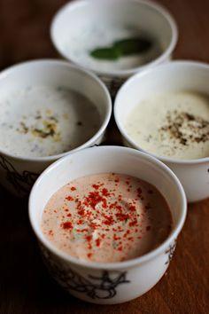 Ekocozy | Naturalnie na co dzień: 4 zdrowe i aromatyczne jogurtowe dipy/sosy Grill Party, No Frills, Grilling, Bbq, Food And Drink, Pudding, Impreza, Tableware, Desserts