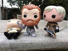 Funko Jaime, Tormund & Brienne - Game of Thrones