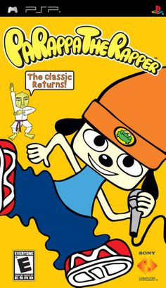 "Exhibit 76. PARAPPA THE RAPPER 1997. After disbanding his synth pop group, Masaya Matsuura turned his hand to a video game based on samples. The result was Parappa the Rapper, the first rhythm action video game. Parappa recruits a number of teachers to help him win the heart of a flower-like girl, Sunny Funny. As each mentor raps their advice, the player presses buttons in time to the beat, repeating their rap. Once the player becomes ""cool"", they can freestyle rap, creating their own…"