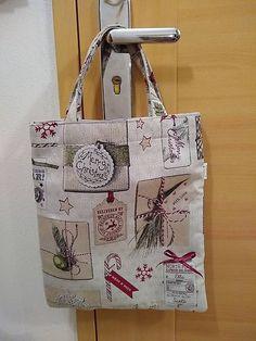 Zero waste taška na všelijaké príležitosti (vianočná darčeková) / . Zero Waste, Reusable Tote Bags, Christmas, Xmas, Navidad, Noel, Natal, Kerst