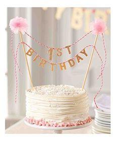 Mud Pie First Birthday Cake Topper #MudPie …