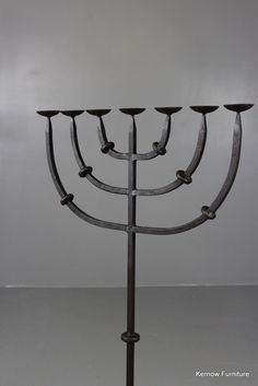 Just in Cast Iron Menorah... Online now: http://kernowfurniture.co.uk/products/cast-iron-menorah-candelabra?utm_campaign=social_autopilot&utm_source=pin&utm_medium=pin National delivery#antique #vintage #retro #cornwall #interiors #london