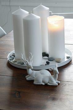 mali-mo: Julekalender 2012: hvit hjort