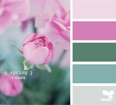 What a great wedding colour palette - spring tones by Design Seeds Colour Pallette, Colour Schemes, Color Combos, Color Patterns, Design Seeds, Color Stories, Color Swatches, Color Card, Color Inspiration