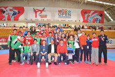 Selección Nacional se queda con el titulo de campeón del México Open de Taekwondo ~ Ags Sports