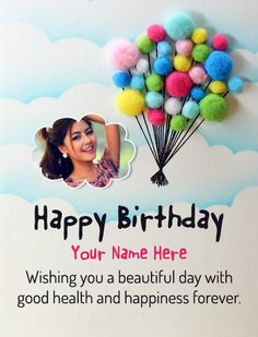 Special Happy Birthday Wishes, Birthday Wishes Greeting Cards, Birthday Wishes With Name, Happy Birthday Greetings Friends, Birthday Wishes For Girlfriend, Birthday Wish For Husband, Happy Birthday Wishes Images, Birthday Wishes For Myself, Birthday Wishes Quotes