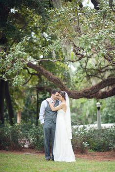 Real Weddings: Jeannine and Jared's Florida Park Wedding