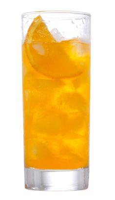 The new Fuzzy Navel with Van Gogh Cool Peach, orange juice, triple sec and soda. Yum!