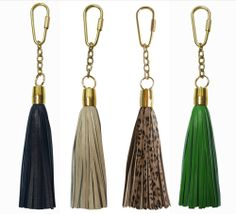 Image of Tassel Keychains Lambskin (see more colors)