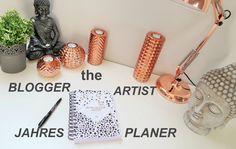 The Blogger Artist Jahresplaner