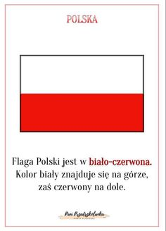 Poland Flag, Polish Language, Kids And Parenting, Teaching, Education, School, Geography, Maps, Speech Language Therapy